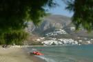 Strand von Aegiali