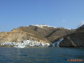 Hafen und Chora von Anafi