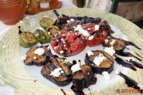 Taverne Pithari -Gemüsevorspeise
