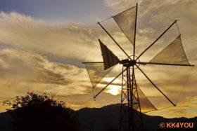 Lassithi-Hochebene -Windräder als Wasserpumpen