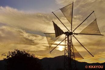 Lassithi-Hochebene Windräder als Wasserpumpen
