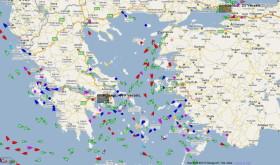 MarineTraffic nutzt das Automatisches Schiffsidentifikations Sys