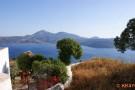 Blick Plakal auf die Bucht von Milos
