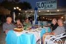 Taverne direkt am Strand von Panormos
