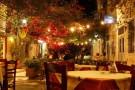 Taverne in den Gassen von Ermoupoli