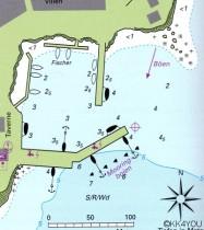 Hafenplan Syros Phoinikas