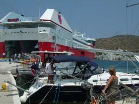 Amorgos -Fährbetrieb