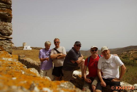 Crew: Achim, Wolfgang, Eberhard, Jürgen, Klaus (v.l.)