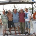 Crew (vr. Eberhard, Achim, Wolfgang, Jürgen, Klaus)