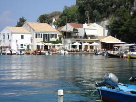 Paxos -Fischerhafen Longos