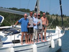 Crew vl: Klaus, Eberhard, Jürgen, Wolfgang, Claus