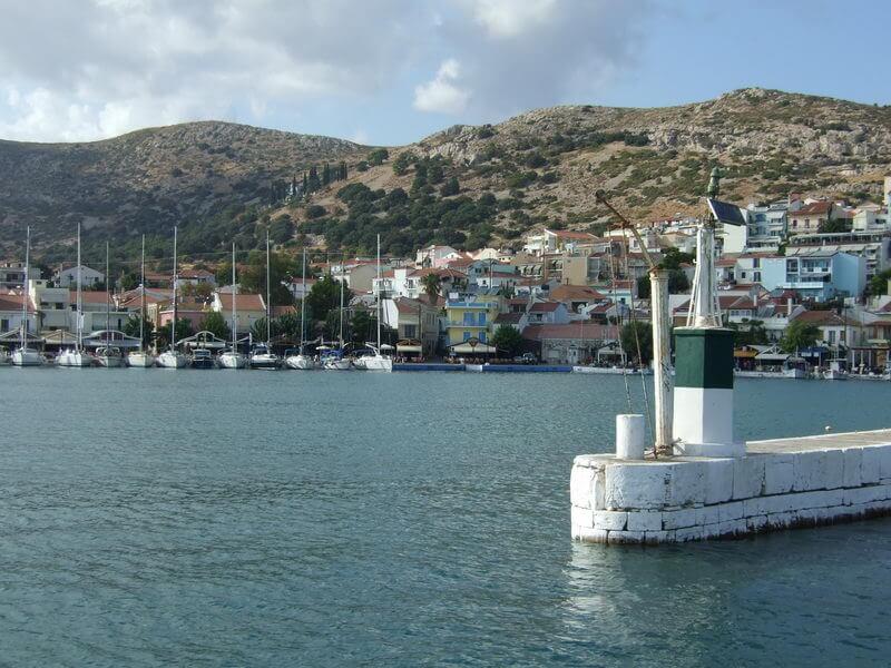 Hafen Pythagoreion auf Samos