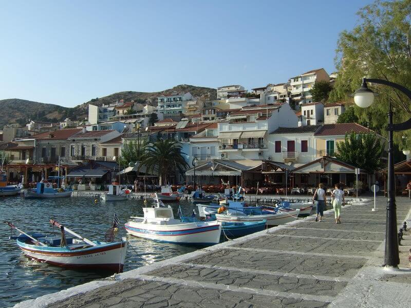 Hafen Pythagorio auf Samos