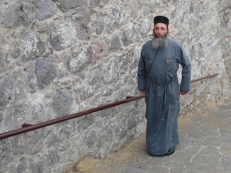 Auf dem Weg ins Kloster auf Patmos