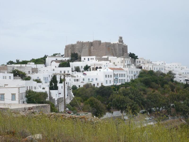 Patmos -Klosteranlage auf der Höhe