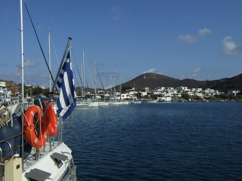 Hafen Skala auf Patmos