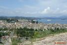 Korfu -Ausblick vom alten Fort