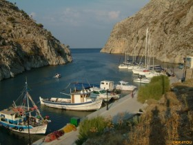 Kalymnos Ormos Vathy -Fjord