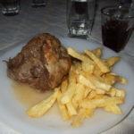Taverne Giorgios -Lammhaxen