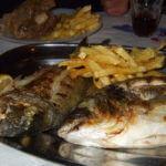 Taverne Giorgios -Fisch frisch aus dem Meer auf Agathonisi