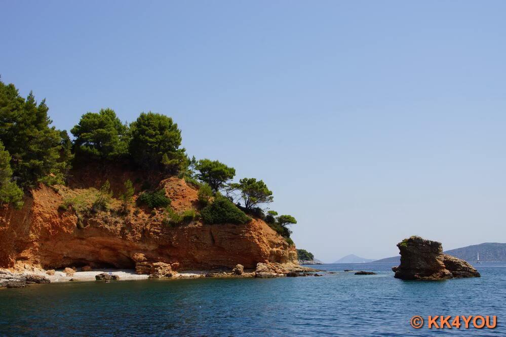 Küste von Alonnisos