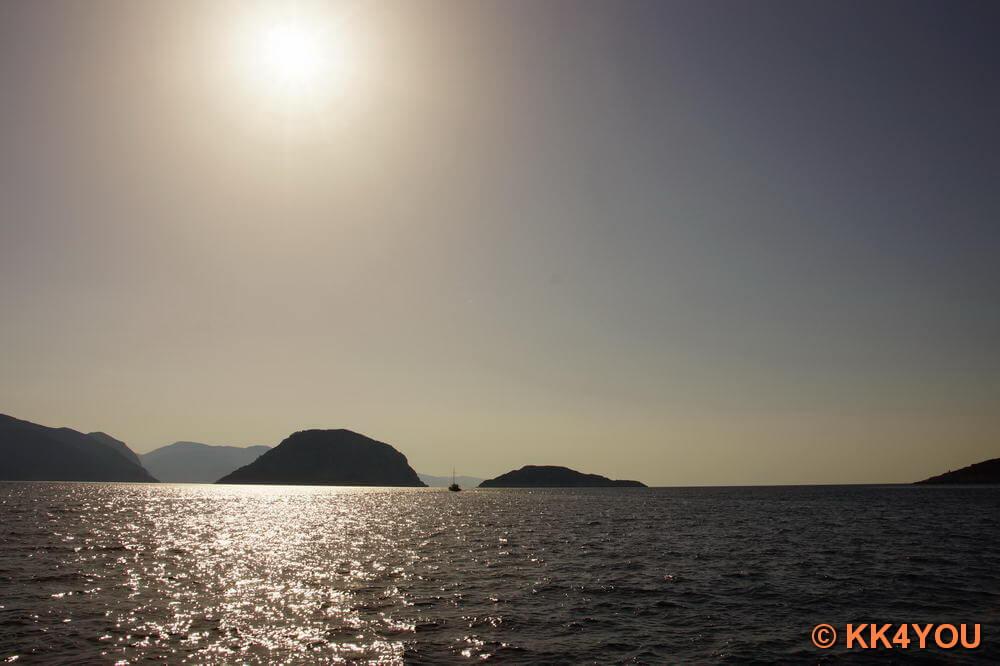 Überfahrt Alonnisos - Skopelos