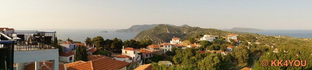 Ausblick von der Altstadt auf die Inselwelt
