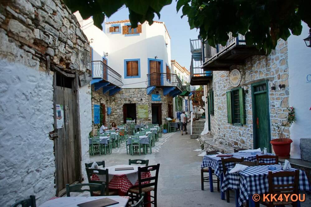 Altstadt von Alonissos (Chora)
