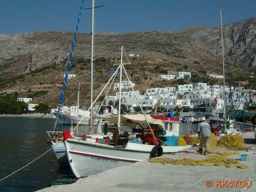 Hafen Aegiali