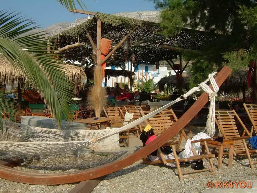 Aegiali -Strandbar