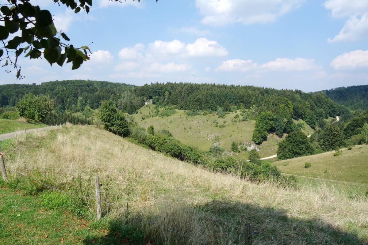 Radtour Schwäbische Alp -Mehrstetten