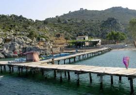 Bozuk Bükü, Blick zum Restaurant Ali Baba