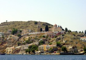 Besuch in Griechenland Insel Symi