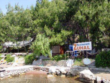 Lykische Küste: Orhaniye-Bucht, Restaurant Zuhal