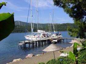 Lykische Küste -Orhaniye-Bucht, Restaurant Zuhal