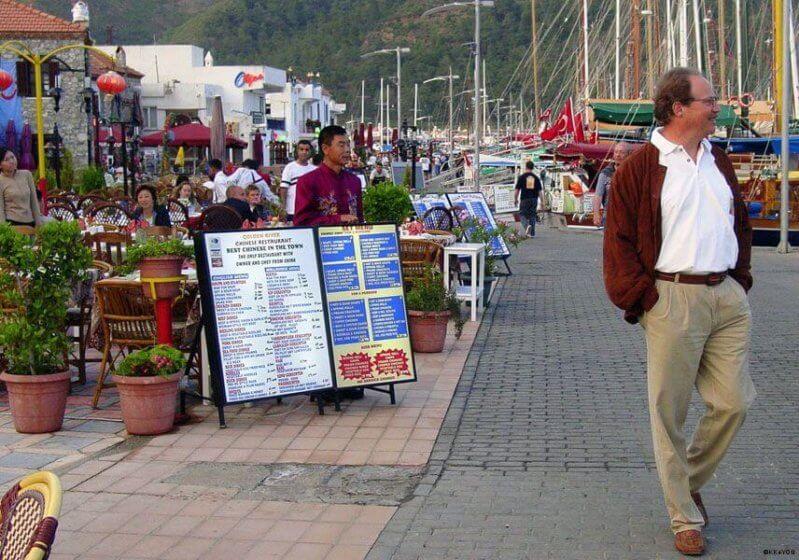 Blaue Reise: Marmaris Strandpromenade