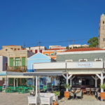 Chalki, Restaurats an der Uferpromenade
