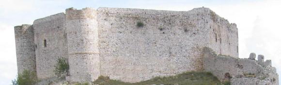 Kastro Chlemoutsi -Burganlagen auf dem Peloponnes