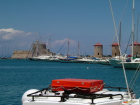 Marina Mandraki -Altstadthafen Rhodos