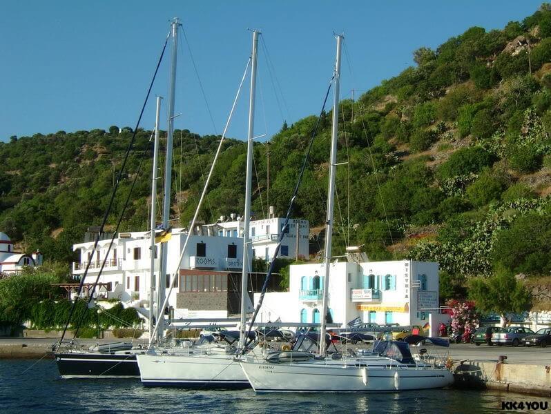 Nisyros, rund um den Hafen Mandraki