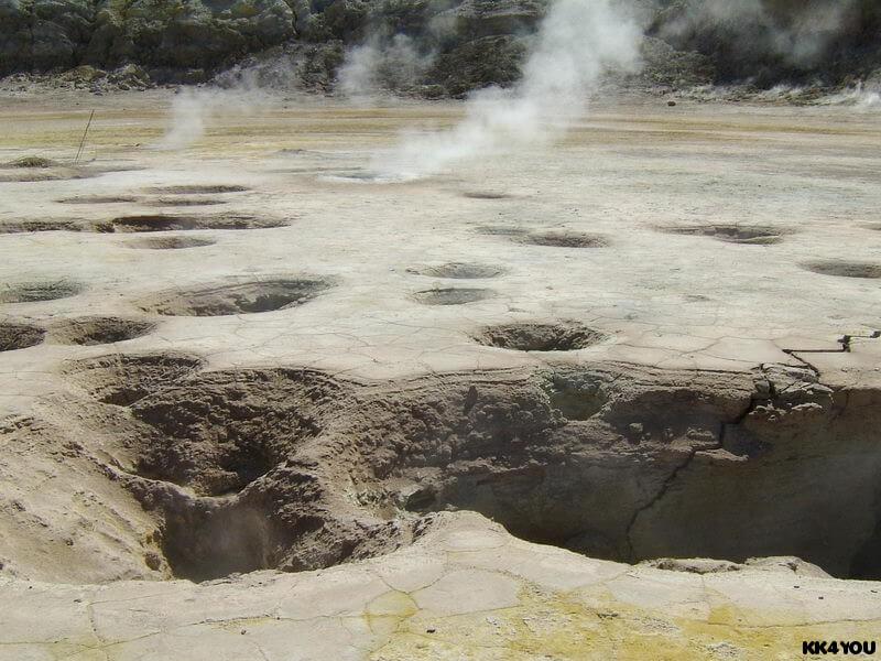 Nissyros -Im Krater