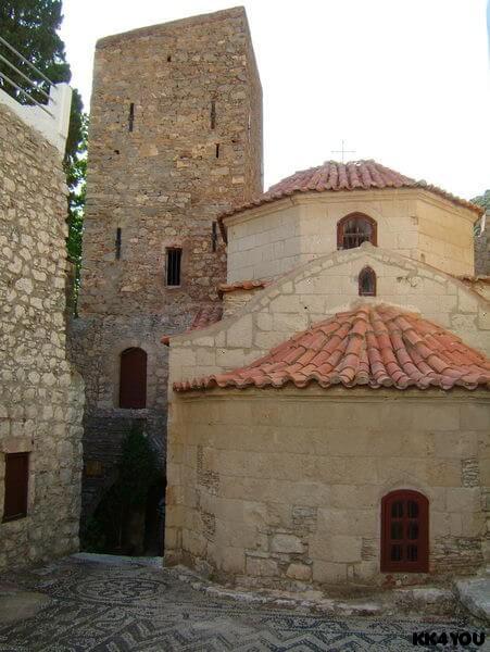 Tilos -Kloster Agios Panteleimon