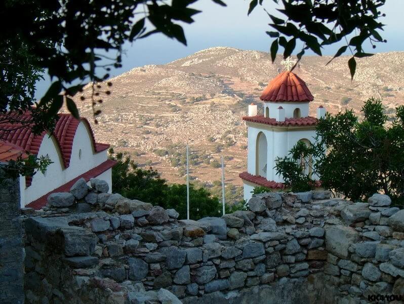 Tilos -Mikro Chorio, das kleine verlassene Dorf