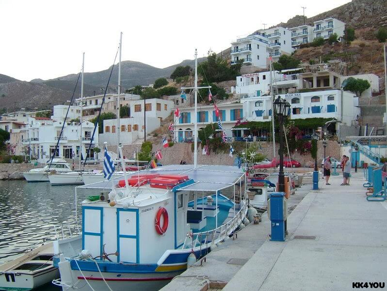 Tilos -Hafen Livadia