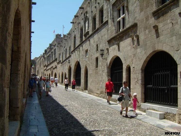 Dodekanes -Zentrum Rhodos Ritterstrasse