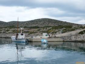 Törn Nördliche Dodekanes -Levitha, Bootsanleger der Fischer