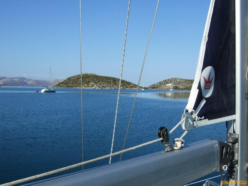Törn Nördliche Dodekanes -Revierfahrt Porto Vathy auf Astypalaia
