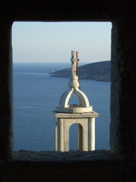 Astypalaia -Blick von der Burg