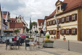 Im Jagsttal und auf den Spuren der Römer -Rathaus Lauchheim