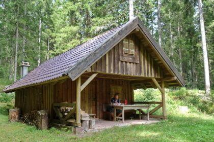 Rastplatz Wilhelm-Maurer-Hütte